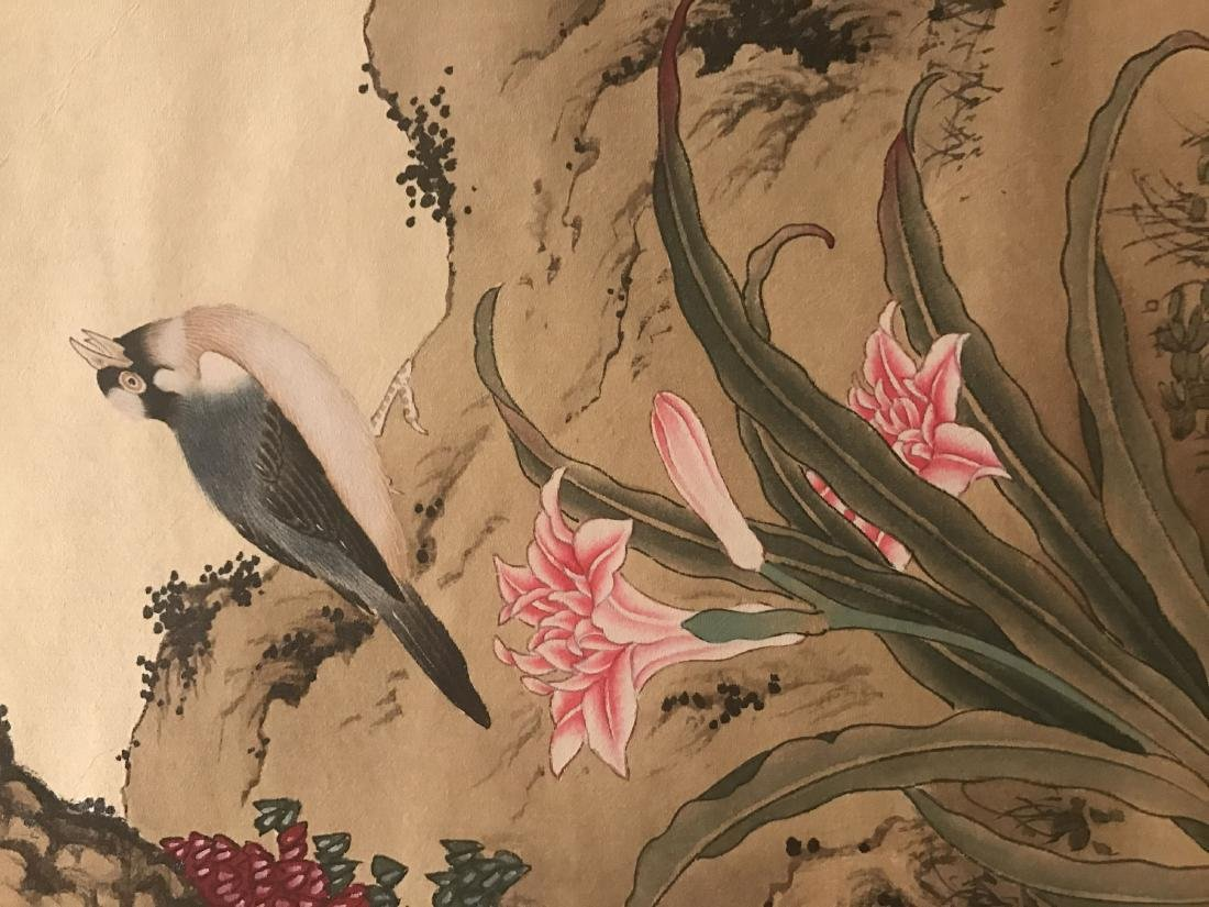 A Chinese Nature-sceen Shenquan Detailed Painting - 8