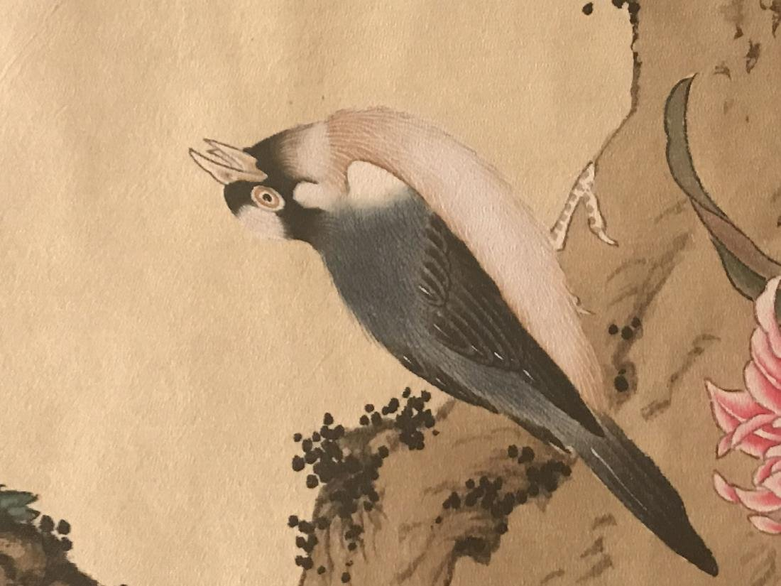 A Chinese Nature-sceen Shenquan Detailed Painting - 9