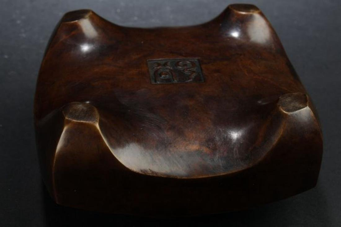 A Lidded Chinese Anicent-framing Estate Censer Display - 5