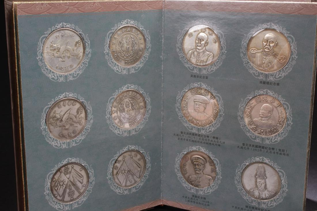An Estate Chinese Coin-collection Gift Display - 2