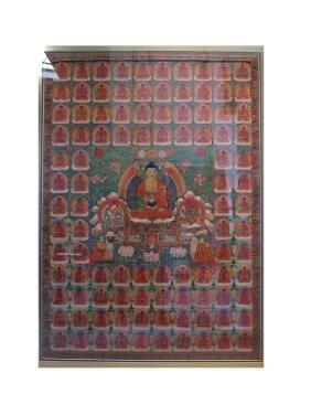 Antique China Tibetan Thangka