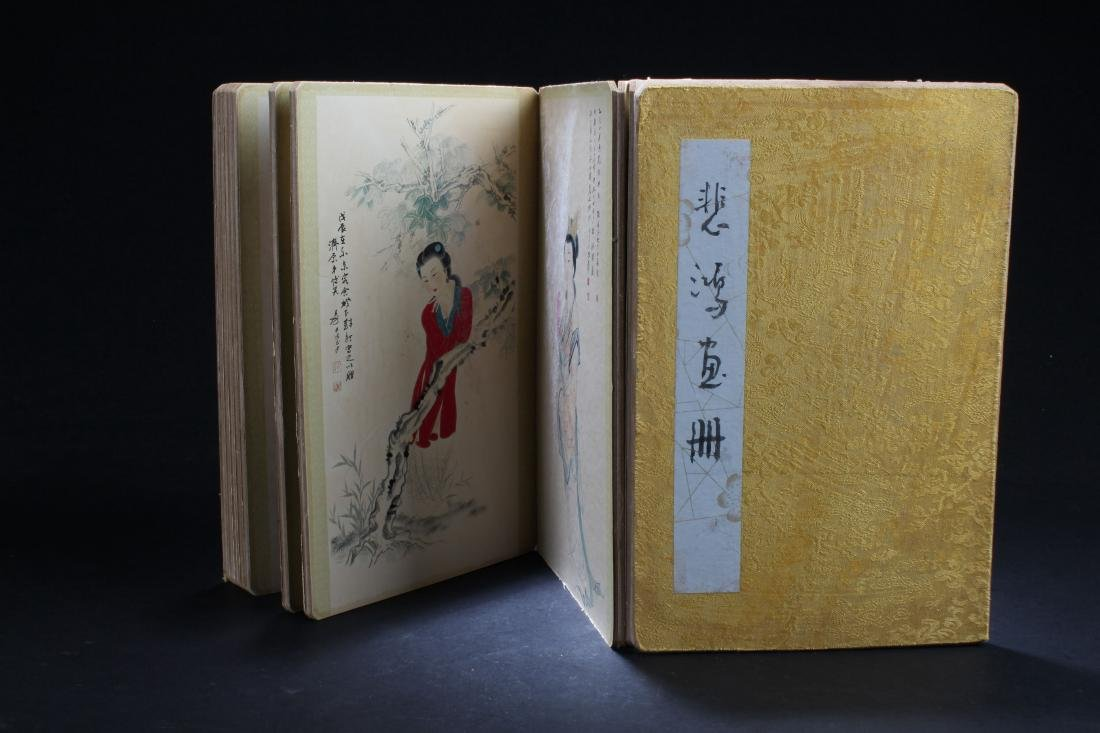 An Estate Chinese Abstract-object Booket Display