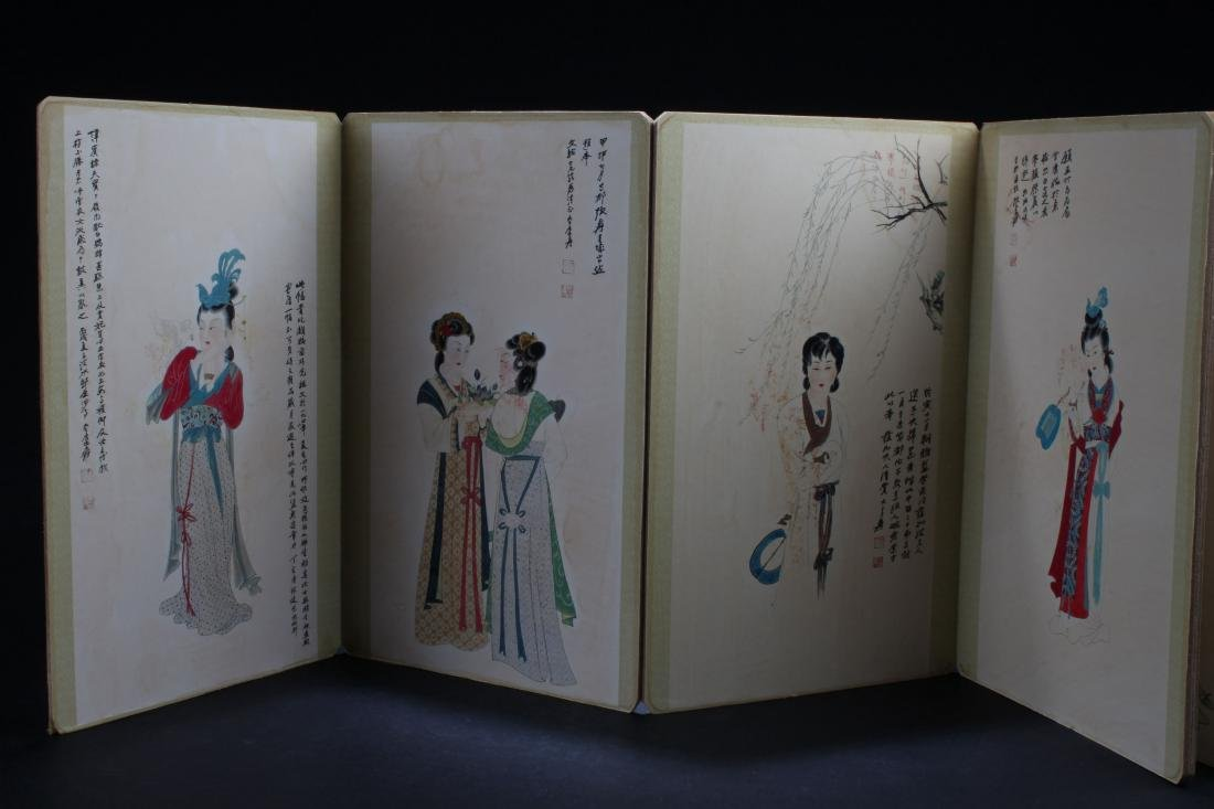 An Estate Chinese Abstract-object Booket Display - 6