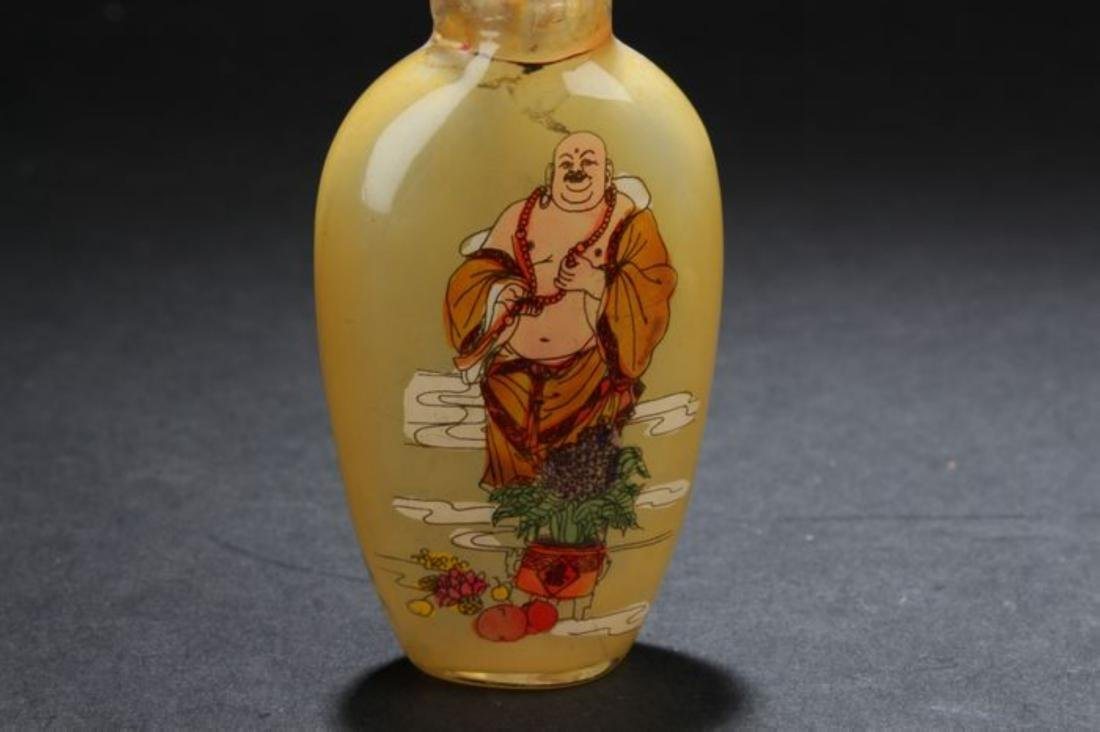 Four Chinese Estate Fortune Snuff BottleChinese - 5