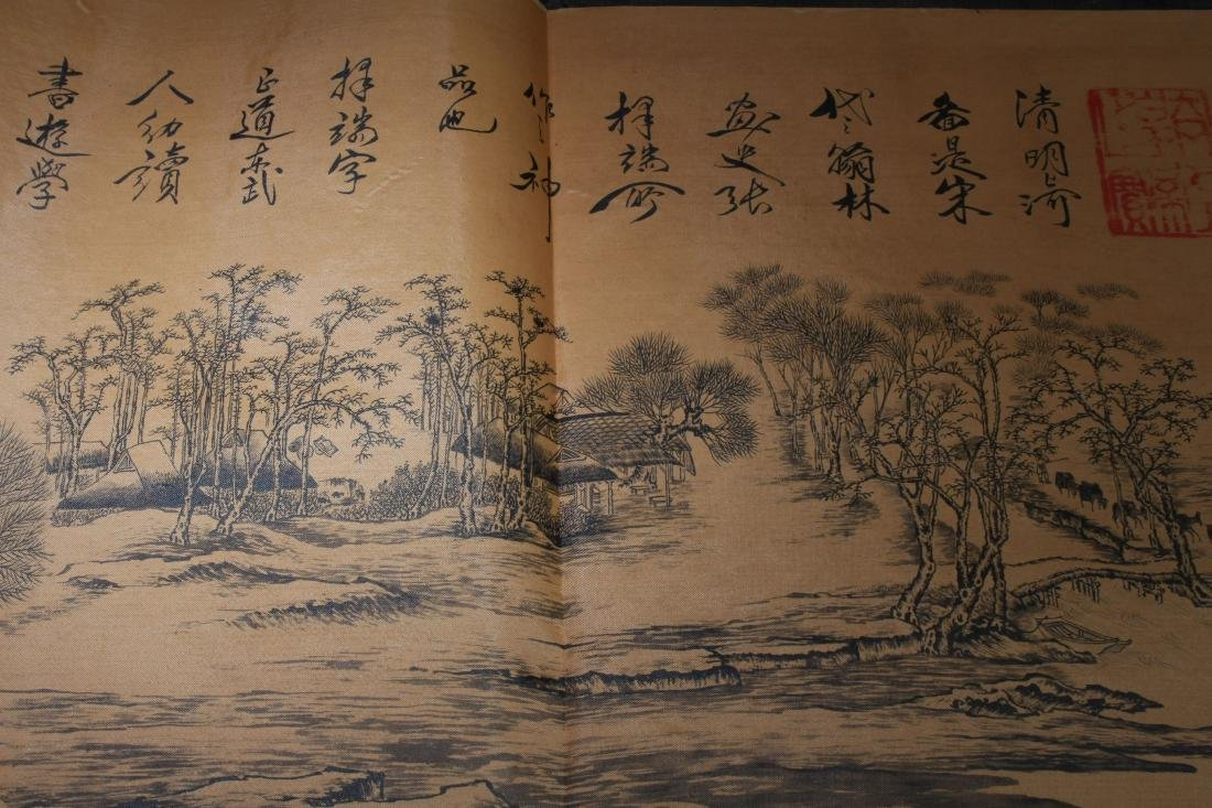An Estate Chinese Drawing Book Display - 2