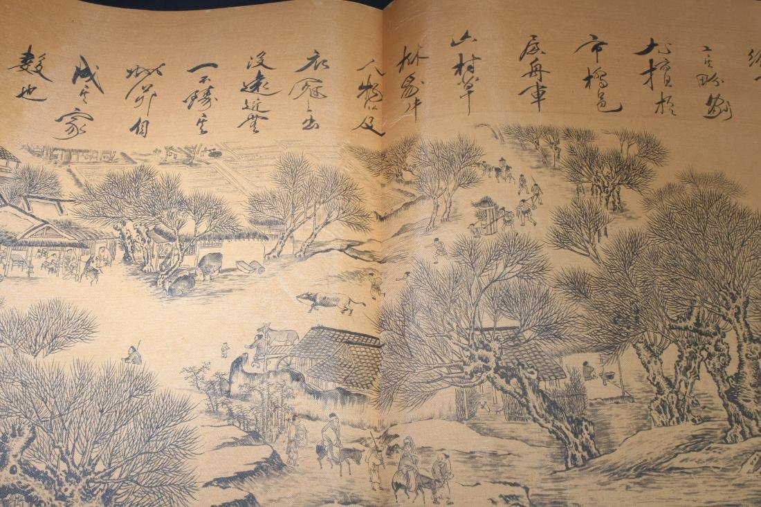 An Estate Chinese Drawing Book Display - 3