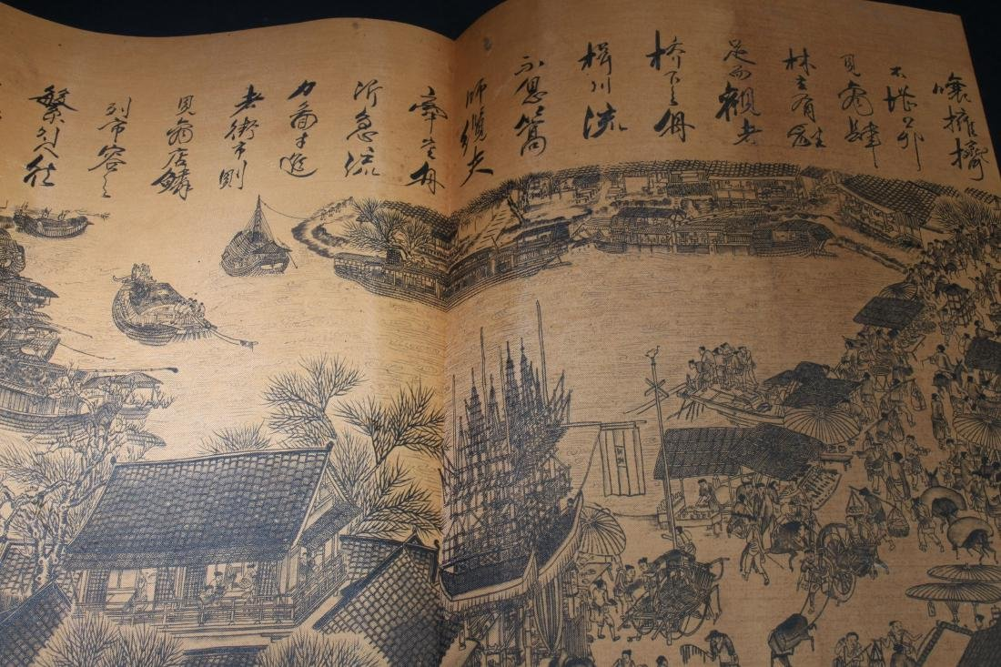 An Estate Chinese Drawing Book Display - 6
