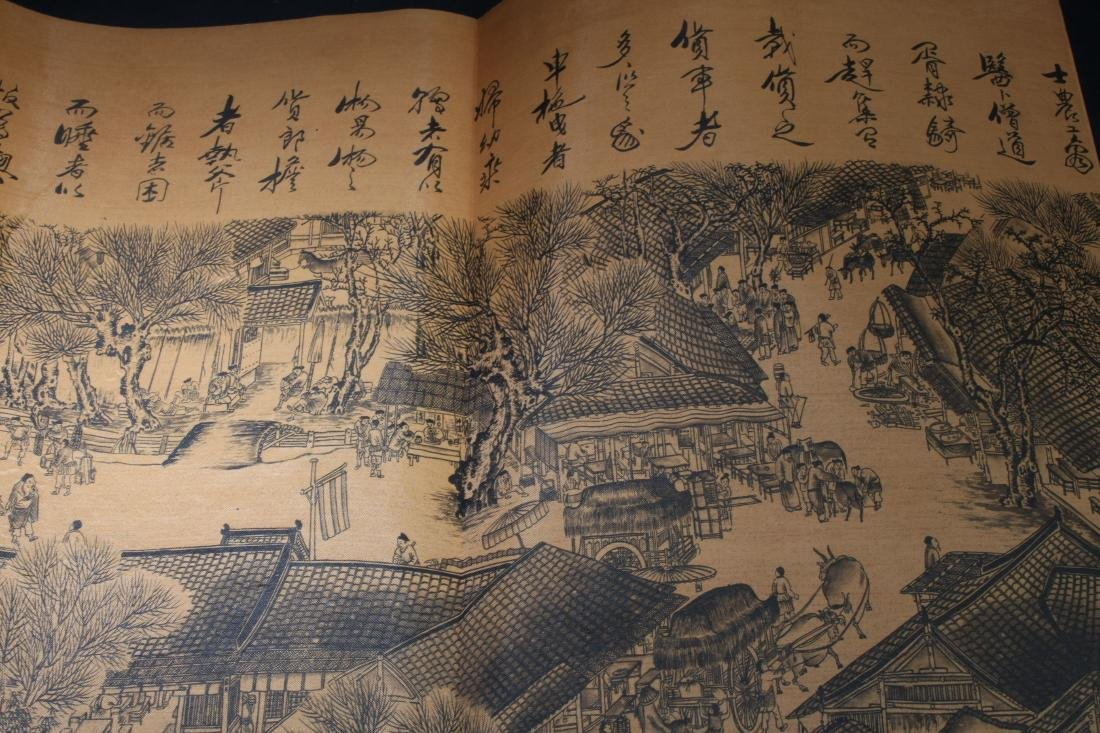 An Estate Chinese Drawing Book Display - 7