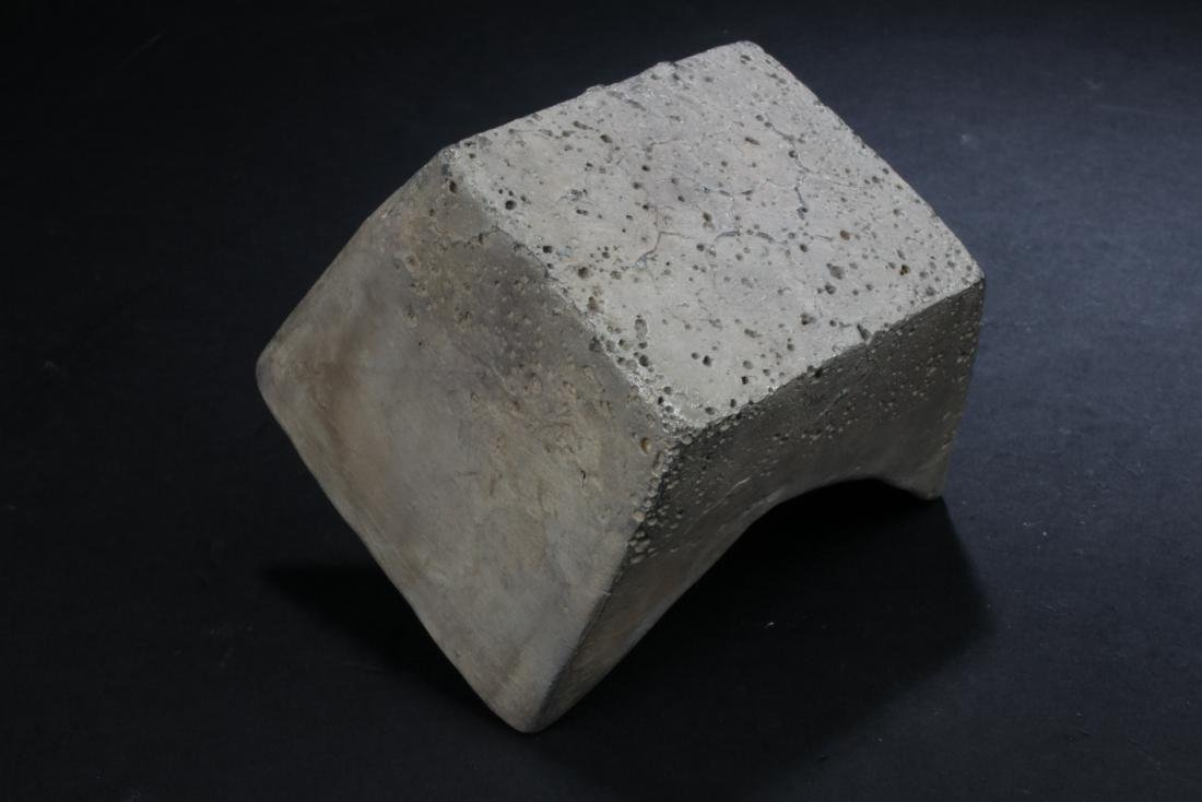 A Chinese Flat-bent Money Brick - 4