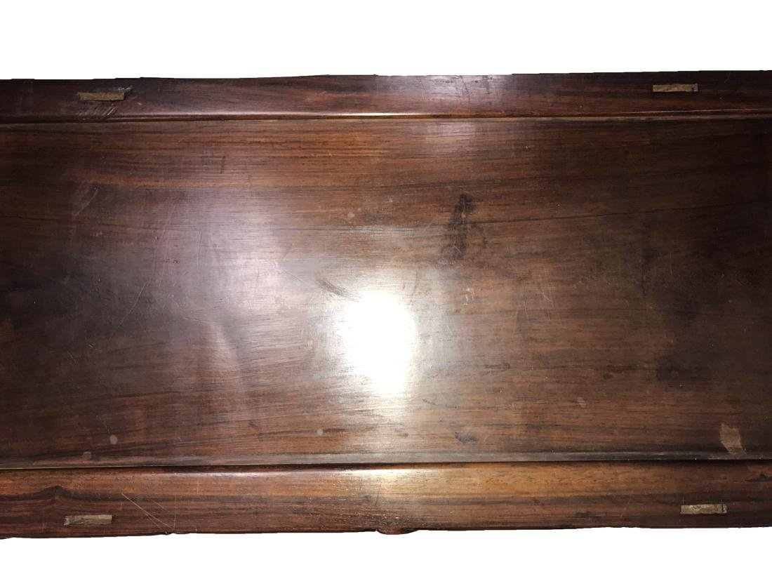 Antique Chinese Hardwood Low Cabinet - 3