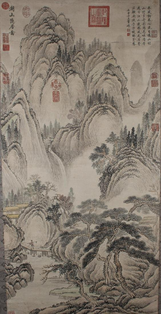 A Chinese Poetry-framing Estate Mountain-view Estate