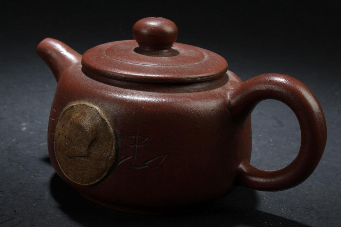 A Chinese Estate Tea Pot Display - 4