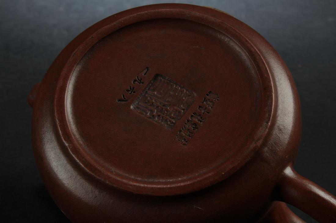 A Chinese Estate Tea Pot Display - 6