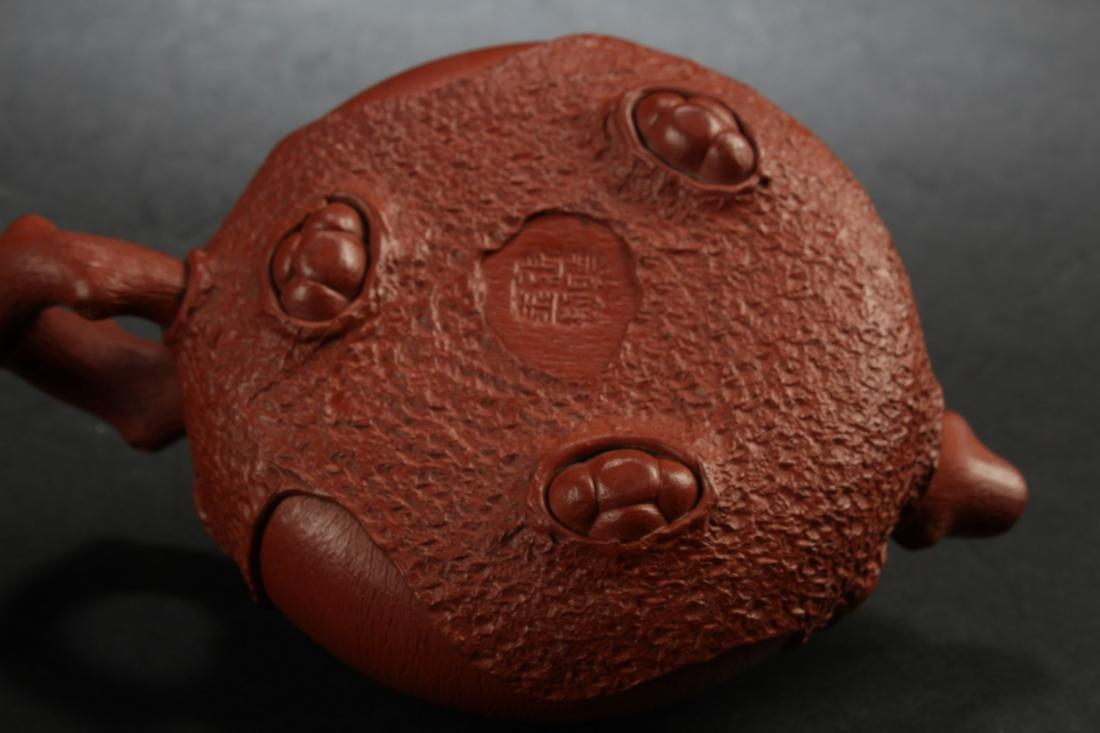 A Chinese Estate Peanut-fortune Tea Pot Display - 5