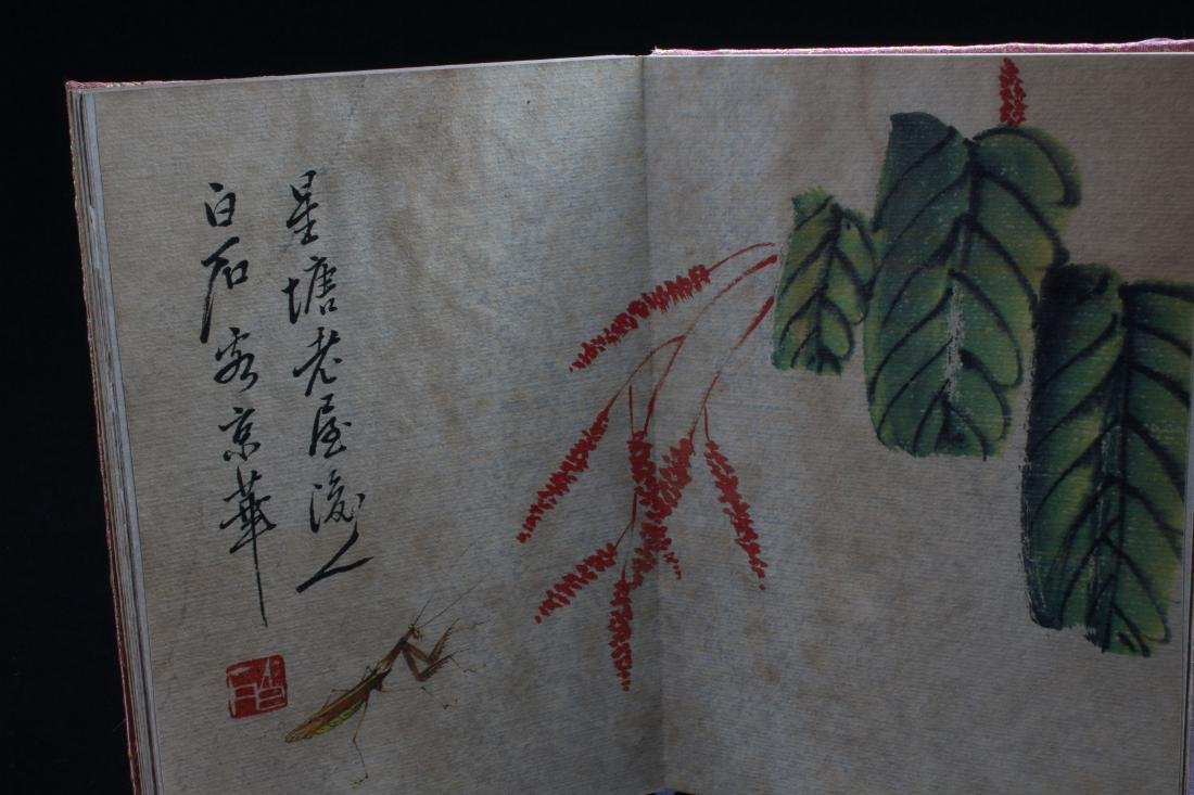 A Chinese Abstract-style Painting-book Display - 2