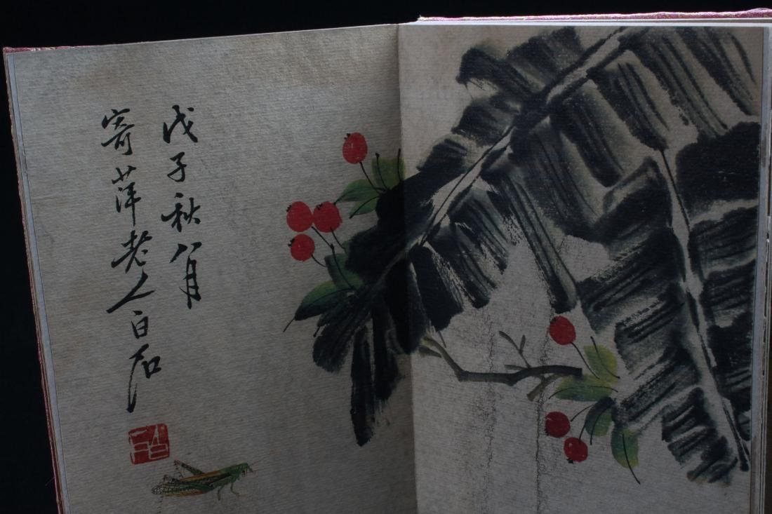 A Chinese Abstract-style Painting-book Display - 4