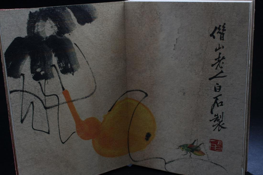 A Chinese Abstract-style Painting-book Display - 5