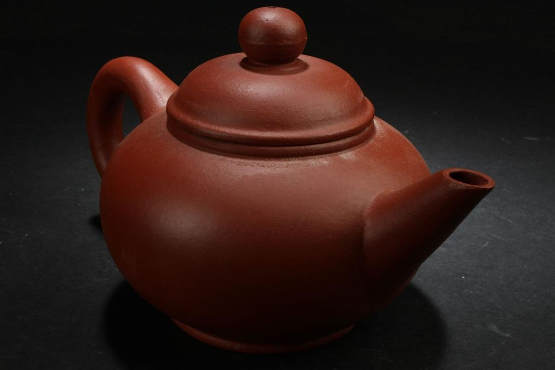 A Chinese Classic-shape Estate Tea Pot Display - 3