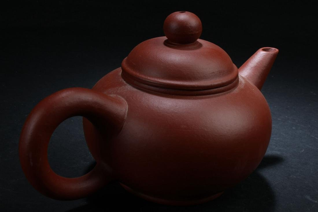 A Chinese Classic-shape Estate Tea Pot Display - 4