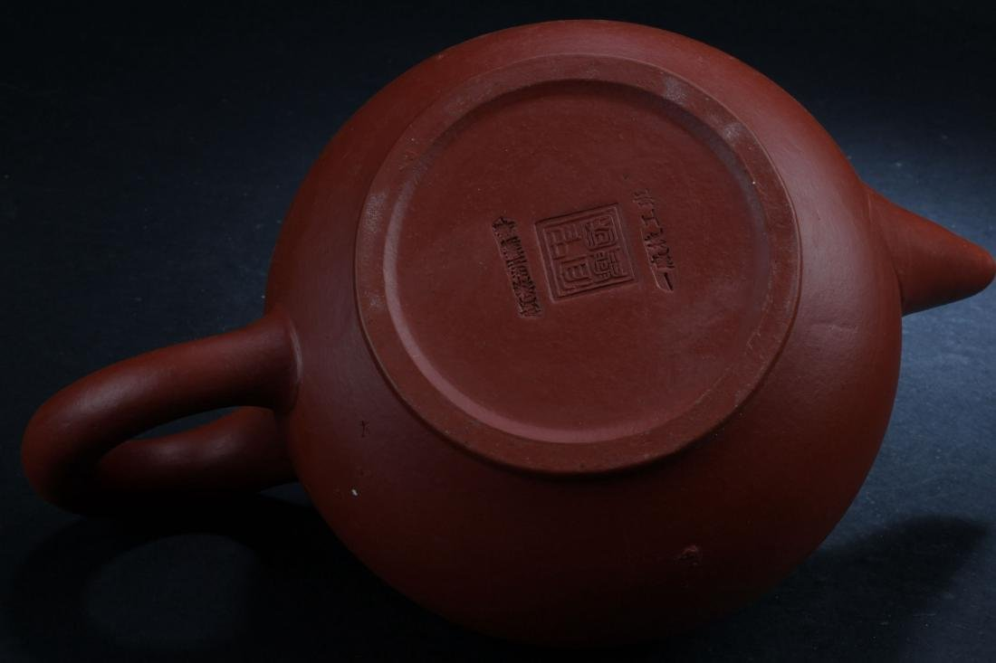 A Chinese Classic-shape Estate Tea Pot Display - 6