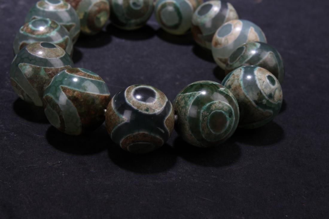 An Estate Beaded Tibetan  Bracelet - 3