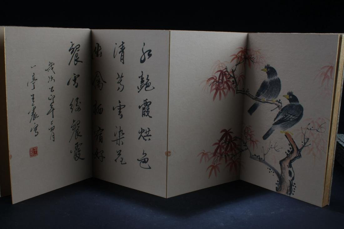 An Estate Chinese Display Book - 5