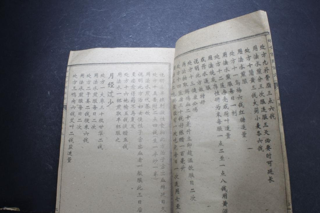 A Chinese Medical-book Display Book - 5
