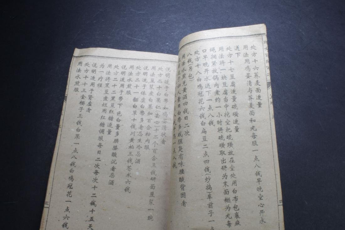 A Chinese Medical-book Display Book - 6