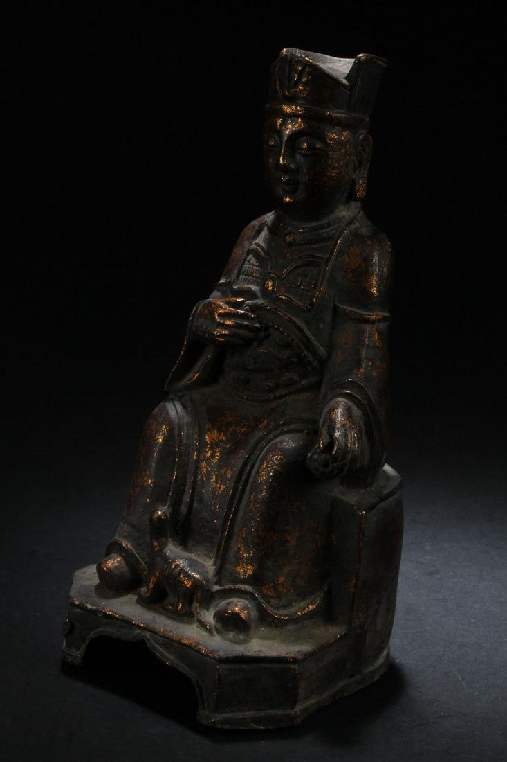 A Chinese Governor-portrait Estate Statue Display - 2