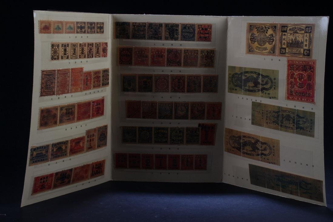An Estate Chinese Stamp Display Book - 2