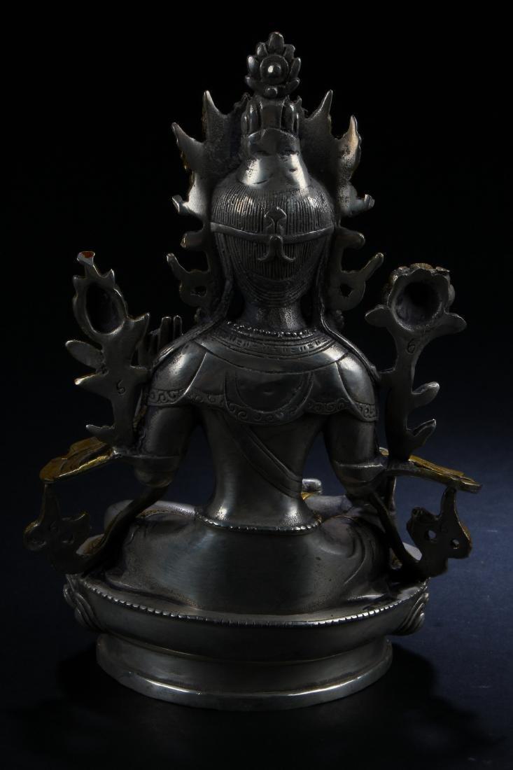 A n Estate Peaceful-posing Chinese Buddha Statue - 4