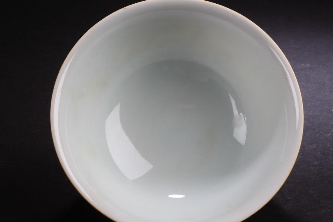 An Estate Chinese Fortune Nature-sceen Porcelain Bowl - 9