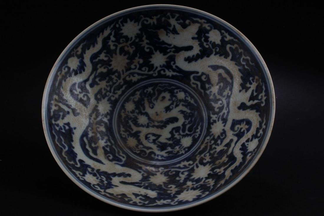 A Chinese Dragon-decorating Estate Blue and White - 2