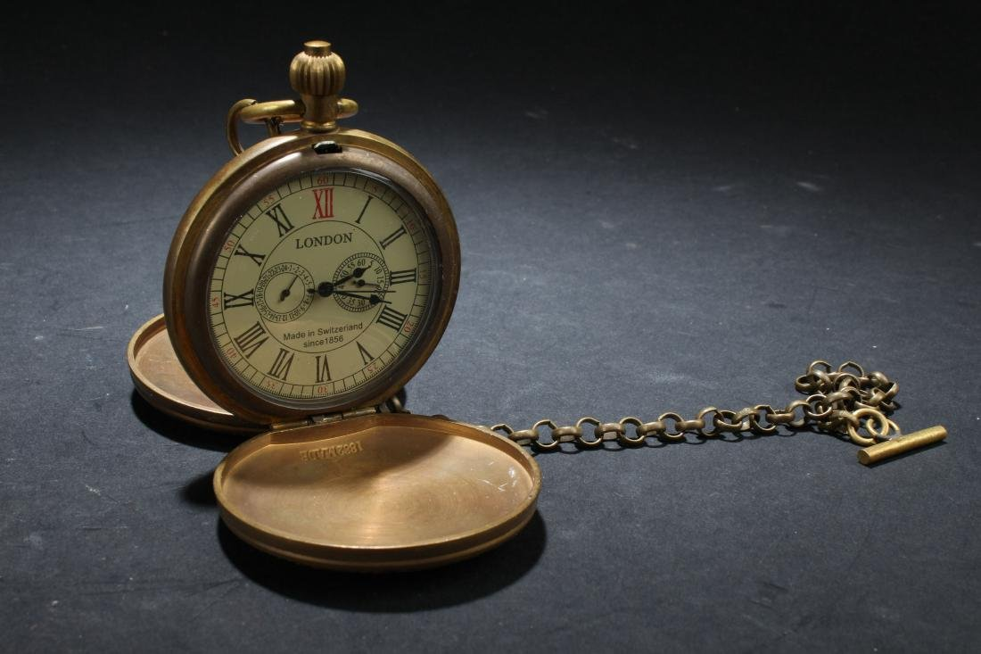 An Estate Pocket-watch Decorating Display