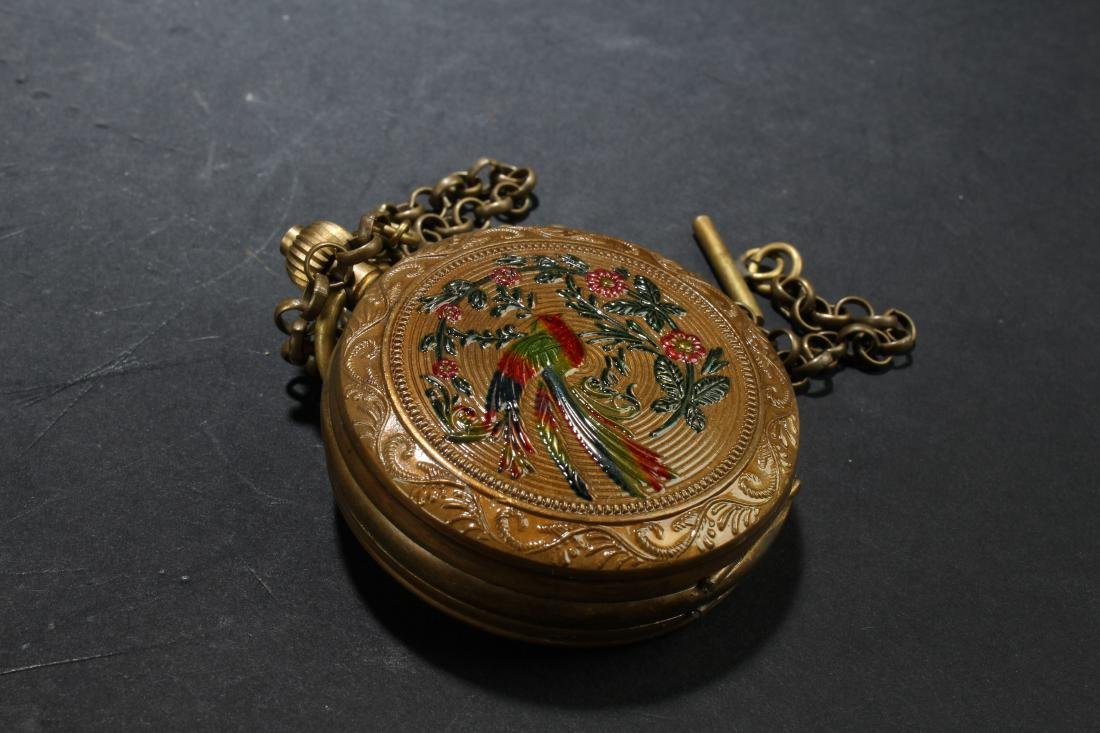 An Estate Pocket-watch Decorating Display - 3