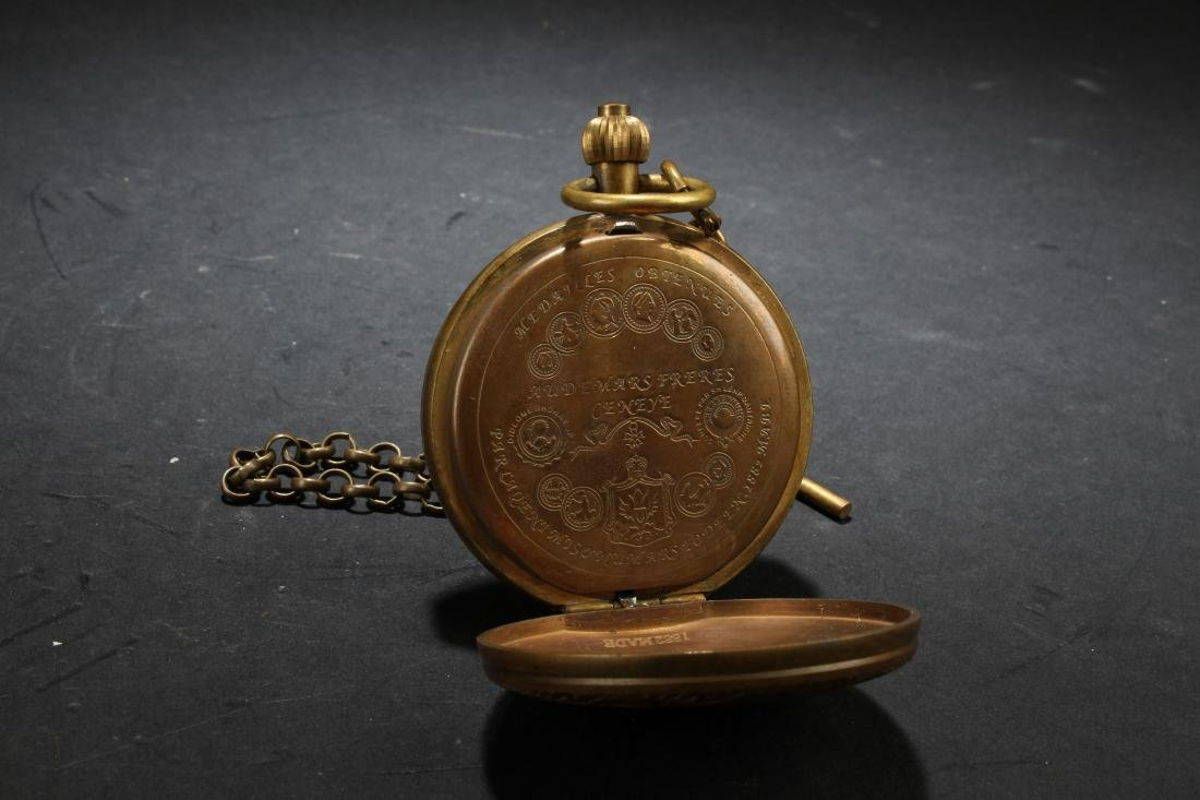 An Estate Pocket-watch Decorating Display - 4