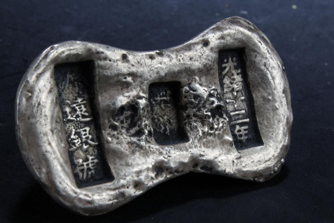 An Estate Chinese Money Brick Fortune Figure