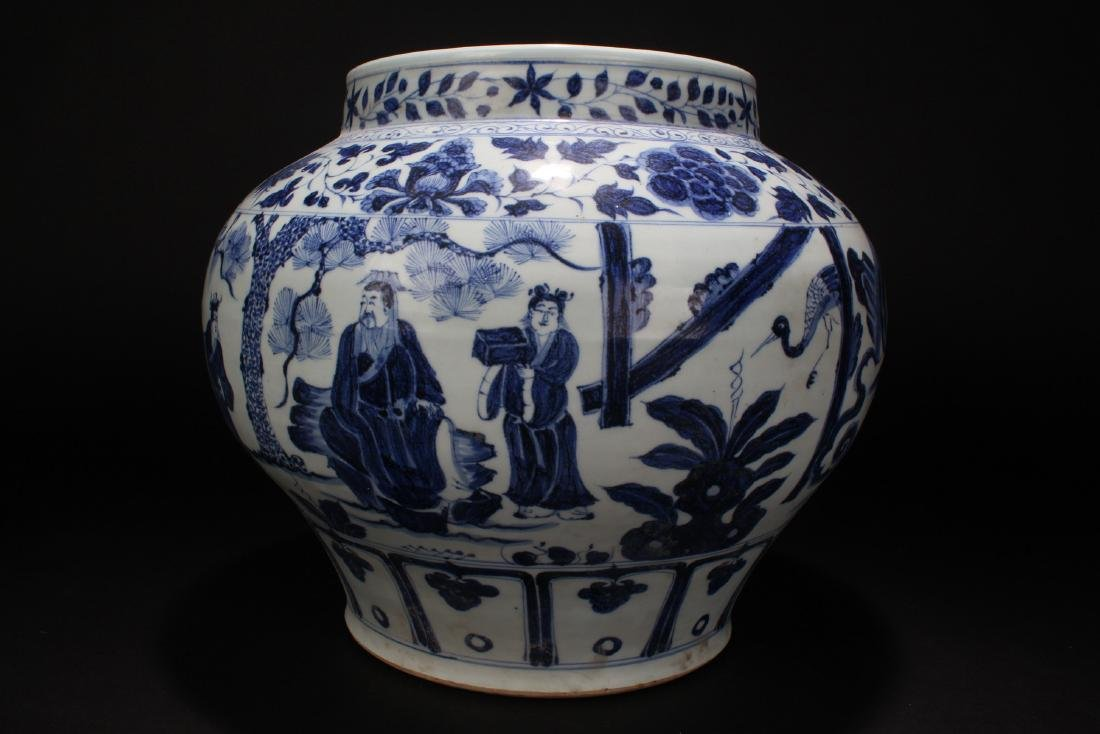 An Estate Chinese Blue and White Battle-field Porcelain - 2