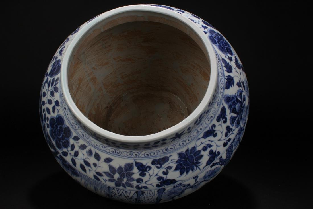 An Estate Chinese Blue and White Battle-field Porcelain - 4