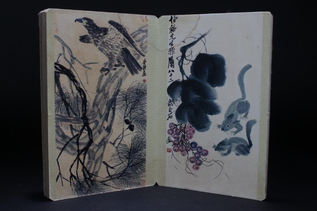 An Estate Chinese Abstract-style Display Book - 2