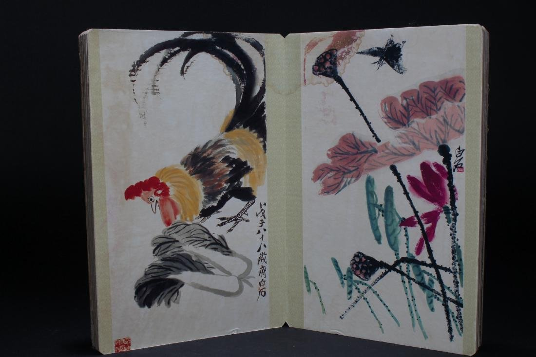 An Estate Chinese Abstract-style Display Book - 3