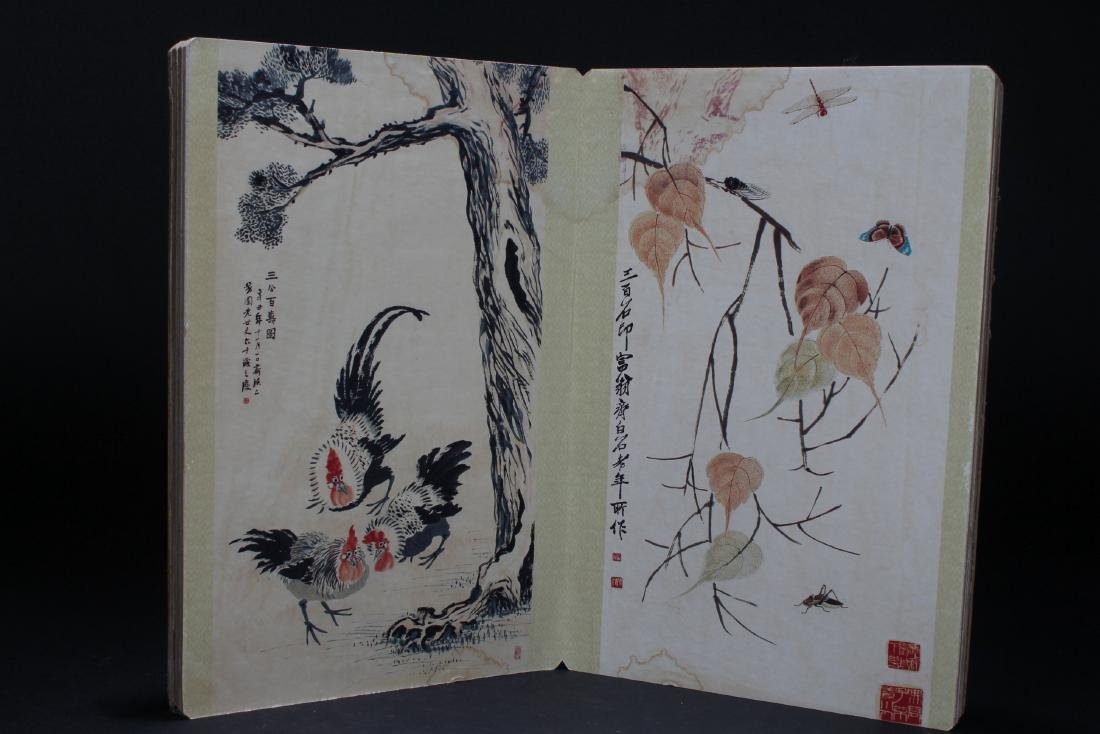 An Estate Chinese Abstract-style Display Book - 4
