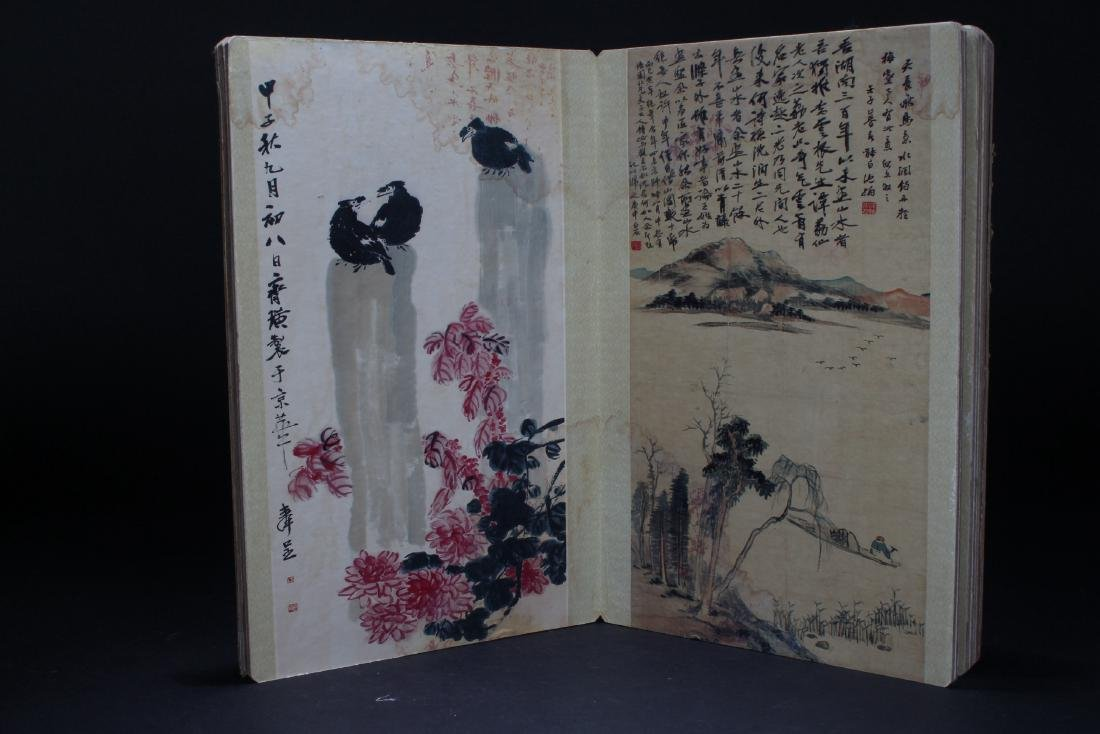 An Estate Chinese Abstract-style Display Book - 5