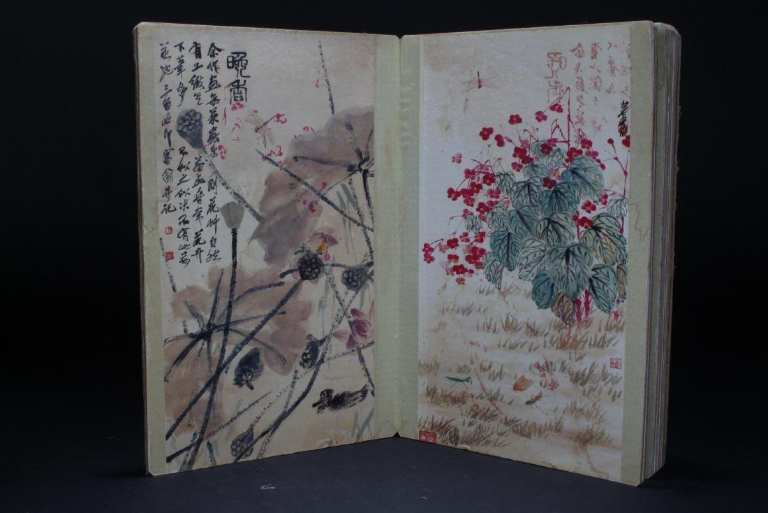 An Estate Chinese Abstract-style Display Book - 6
