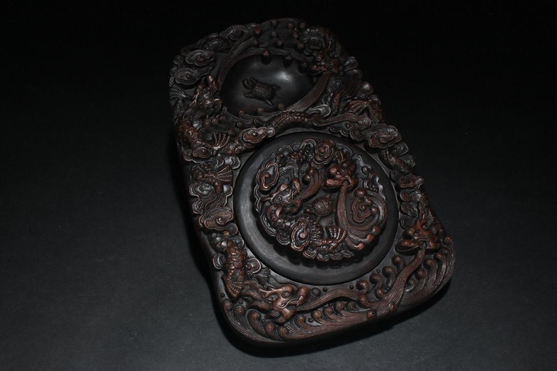 A Chinese Dragon-decorating Display Inkpad
