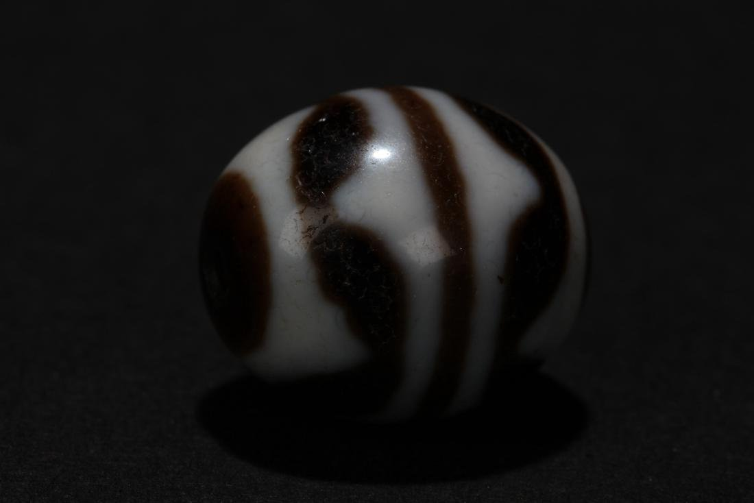 An Estate Round Tibetan Bead - 3