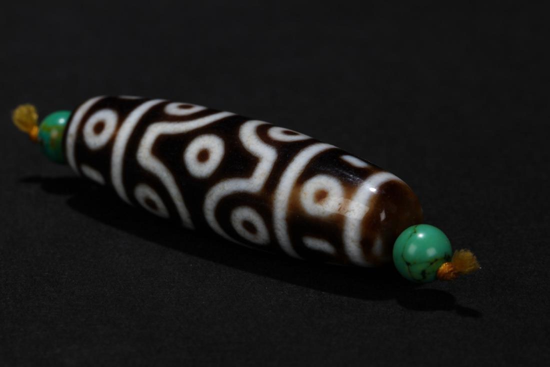 A Tibetan Multi-fortune Estate Bead Display - 4