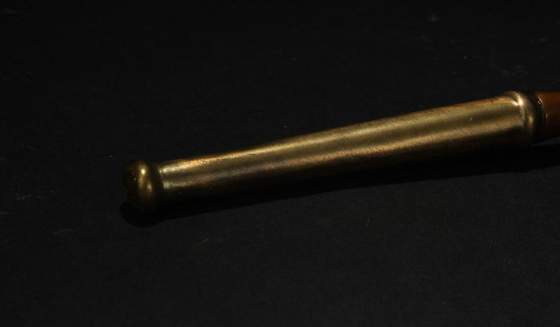 A Chinese Estate Metal Pipe - 4