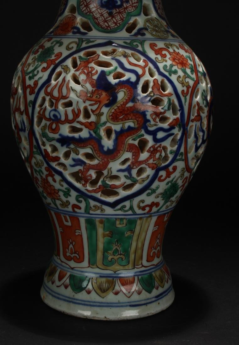 A Chinese Dragon-decorating Estate Duo-handled - 5