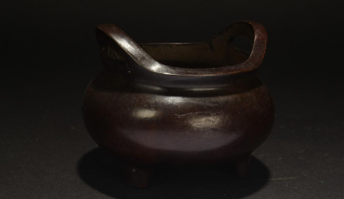 A Chinese Bent-fortune Estate Censer